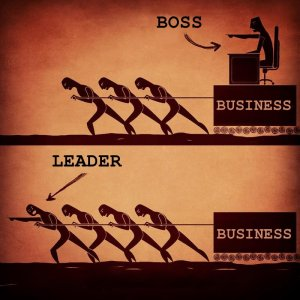 Leader not a Boss